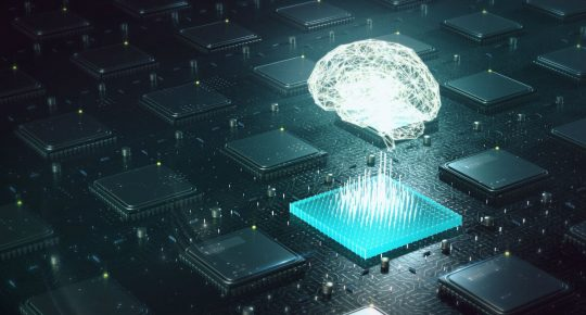 deep learning blockchain neural network concept